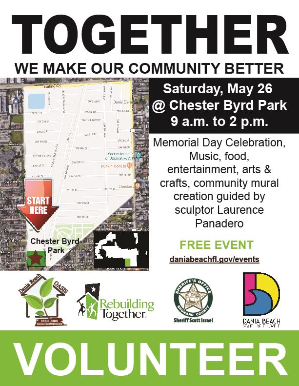 MAY 26 Oasis Cleanup
