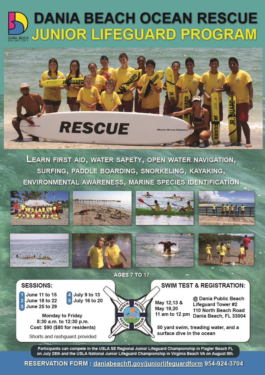 Junior Lifeguard Ocean Rescue