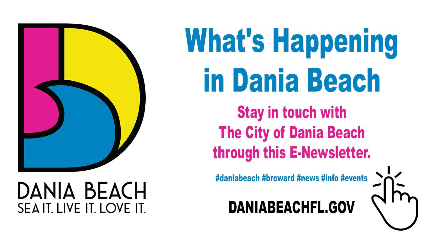 Dania Beach Email Newsletter