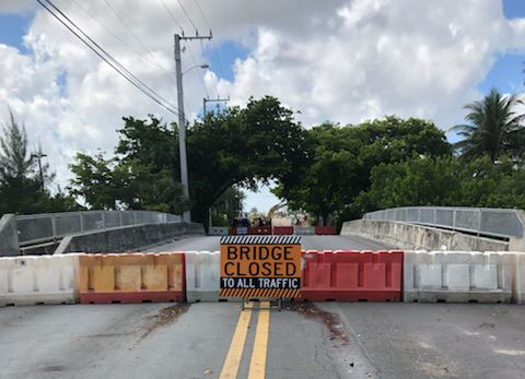 NW 1ST ST CLOSURE Dania Beach Bridge