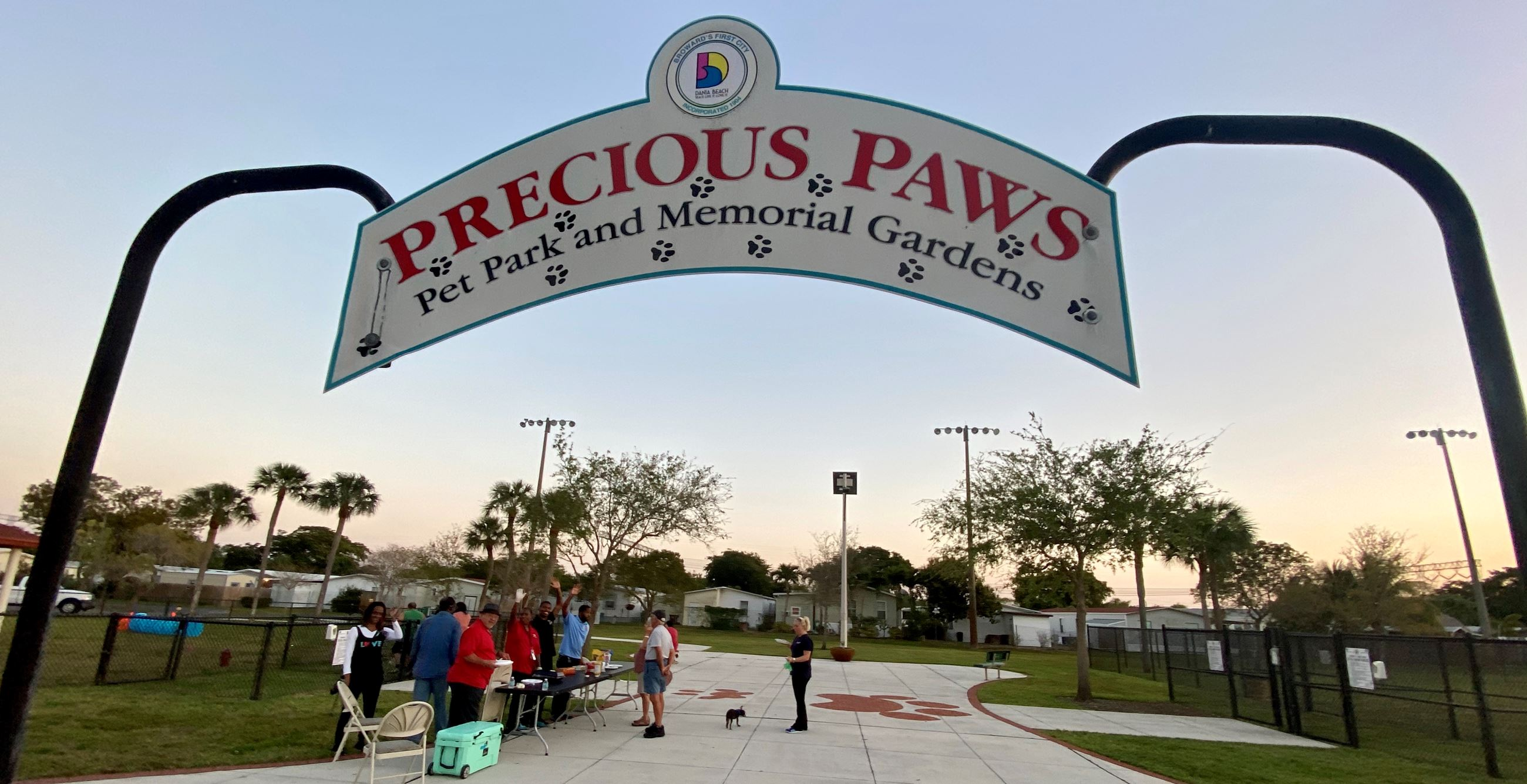 Precious Paws Dog Park Celebration Dania Beach