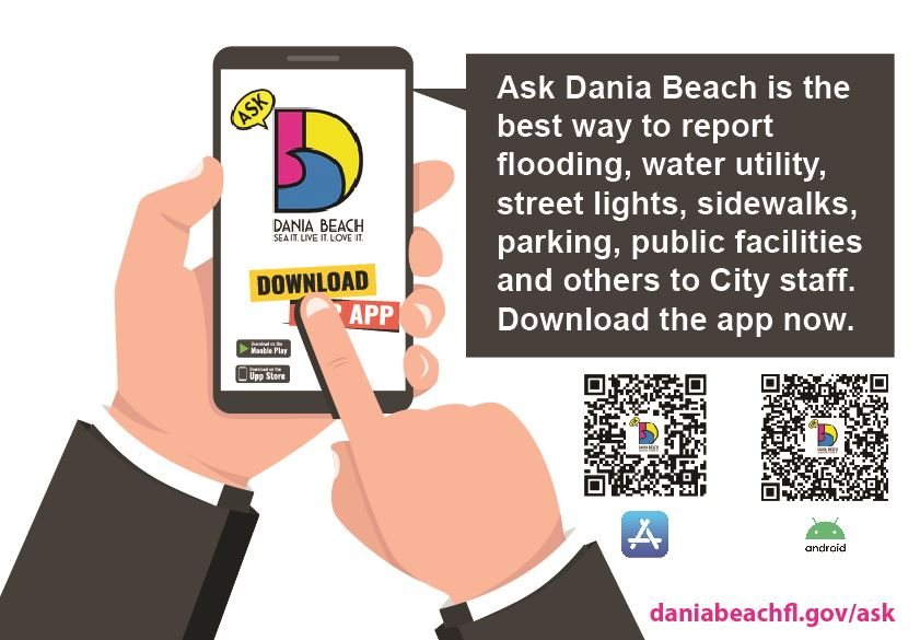 Ask Dania Beach Here Now