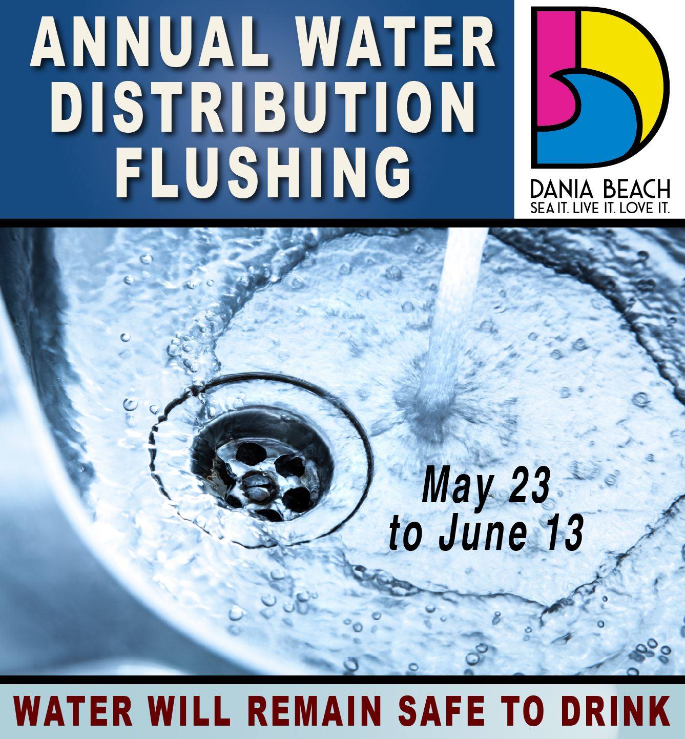 Dania Beach Water Flushing