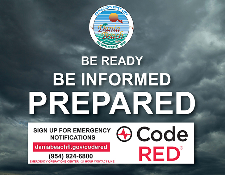 Sign up for CodeRED Alerts in Dania Beach