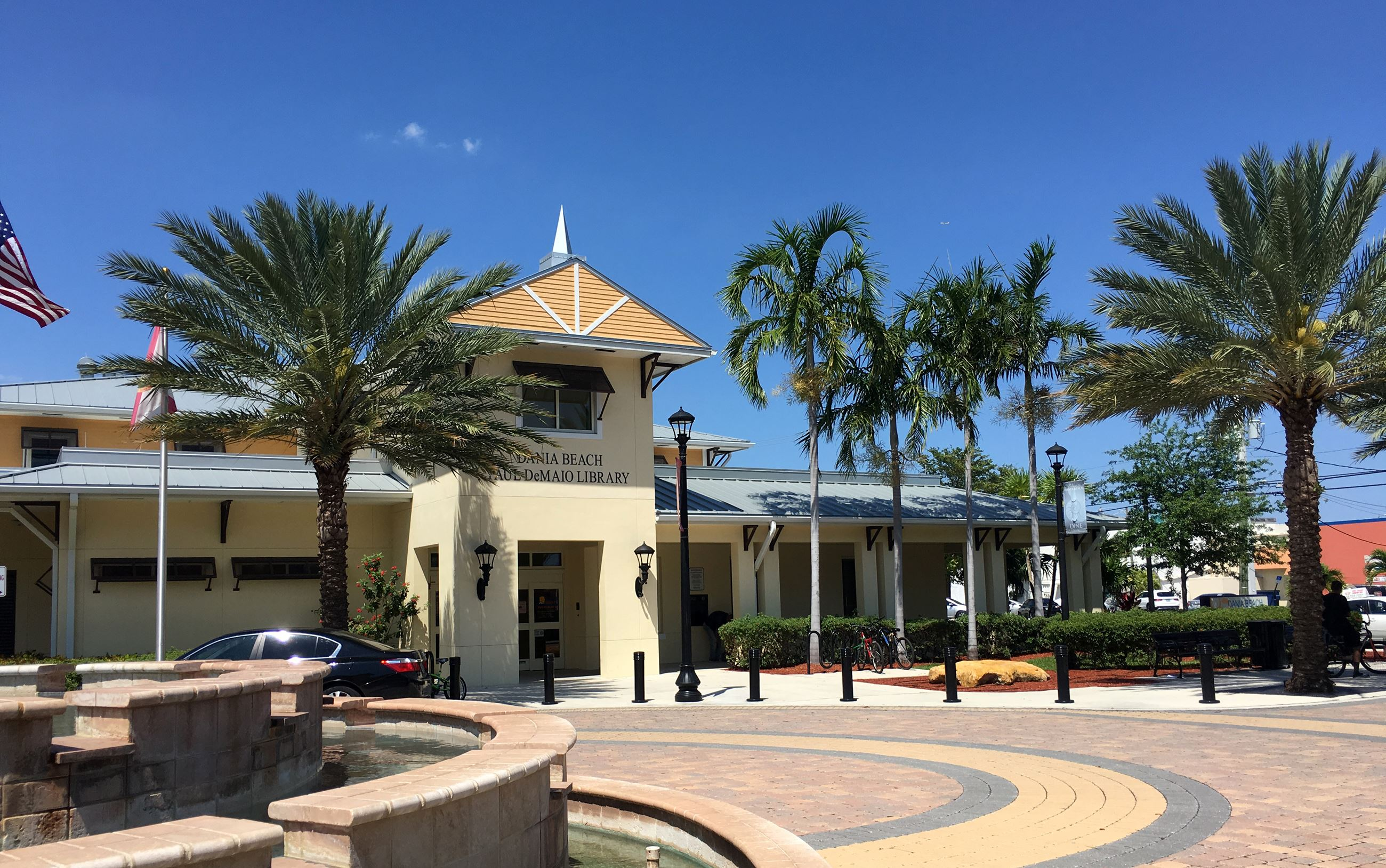 Dania Beach Library Leed Gold Certified