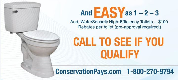 toilet rebate program Dania Beach