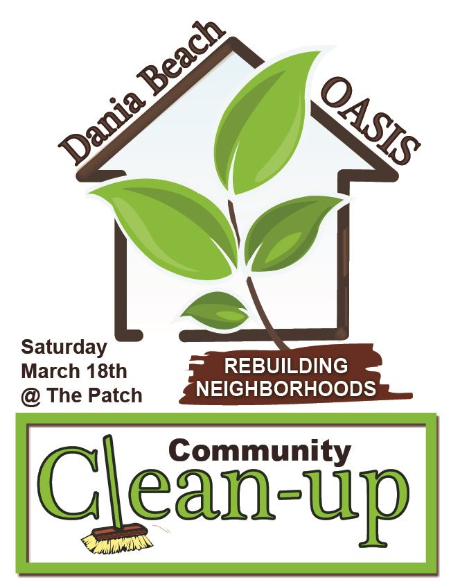 Oasis Cleanup 2017 Dania Beach The Patch CW Thomas park