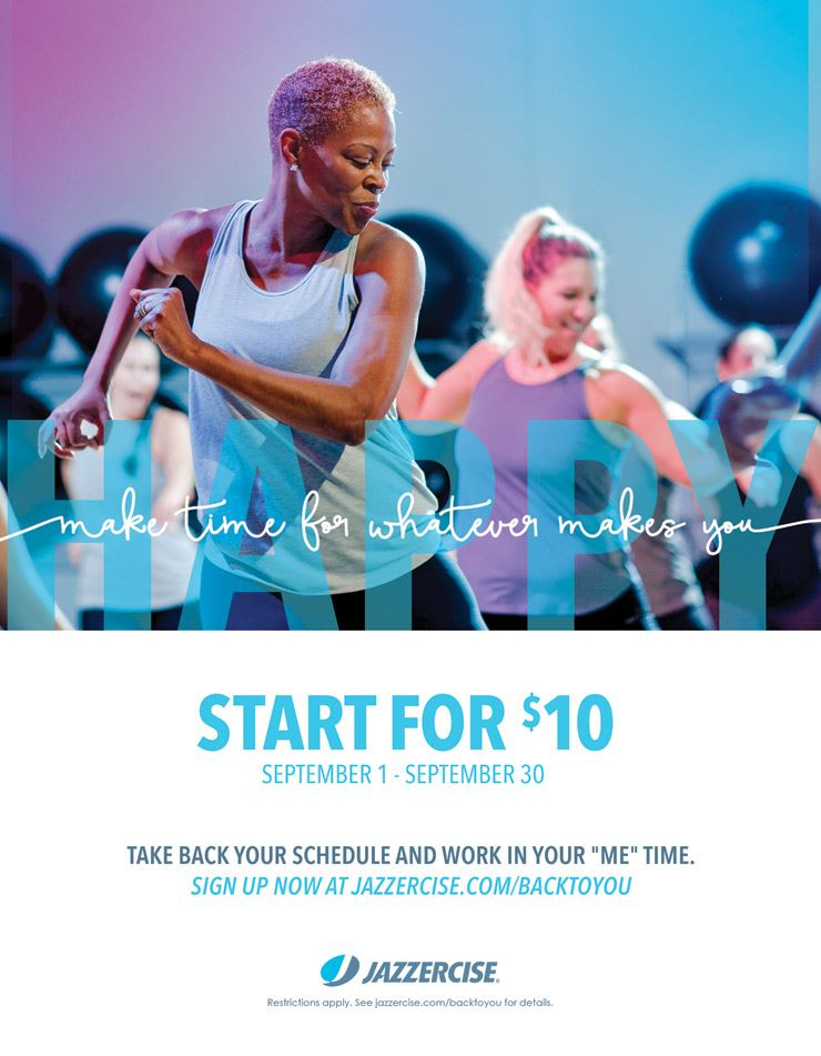 Jazzercise class at Frost Park Dania Beach