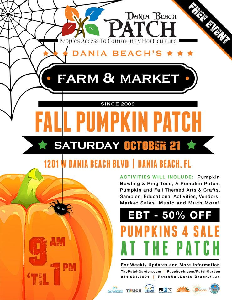Oct 21 Fall Pumpkin Patch