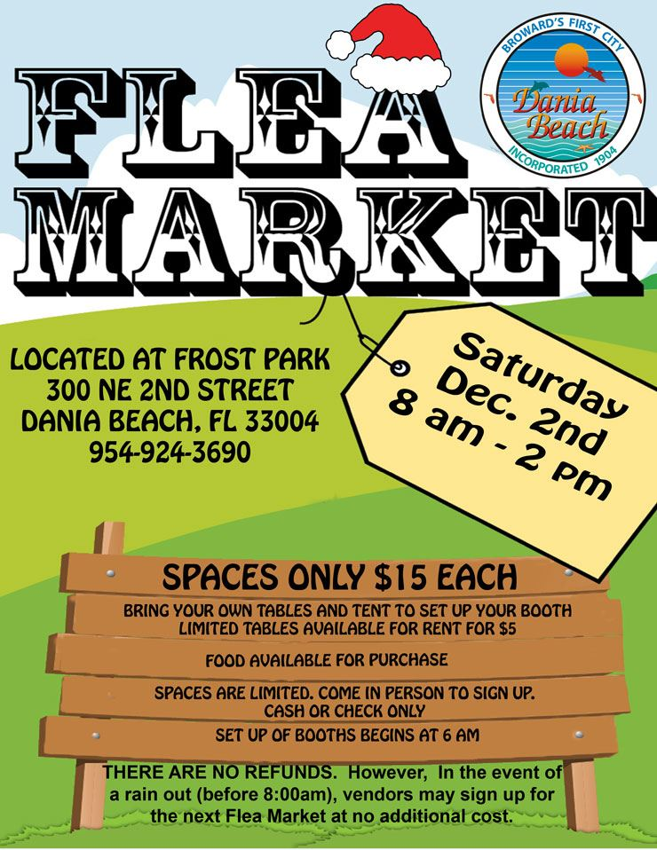 Dec 2 Holiday Flea Market