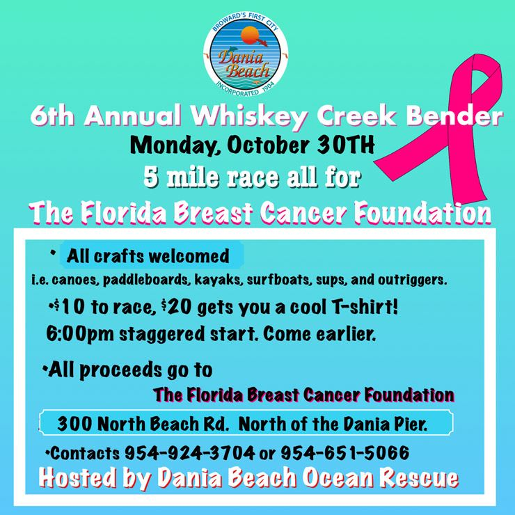 Oct 30 6th Annual Whiskey Creek Bender