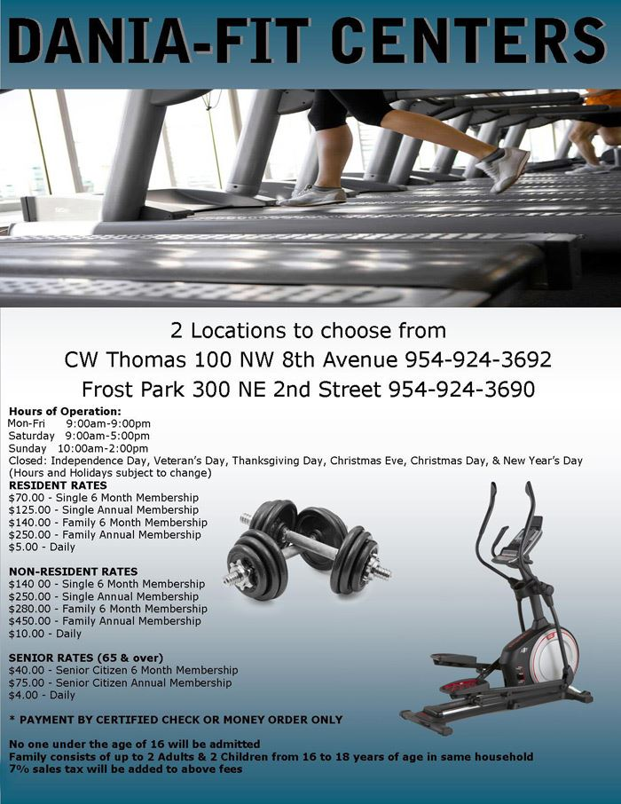 Dania Fit Centers at Frost Park
