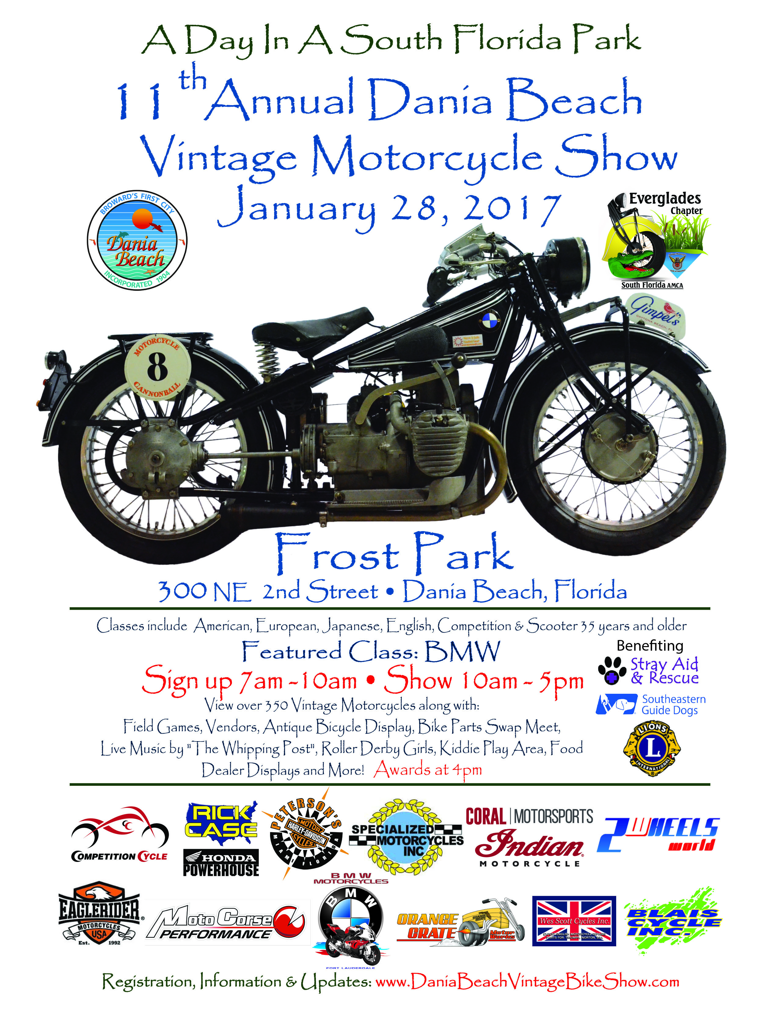 Vintage Motorcycle Show