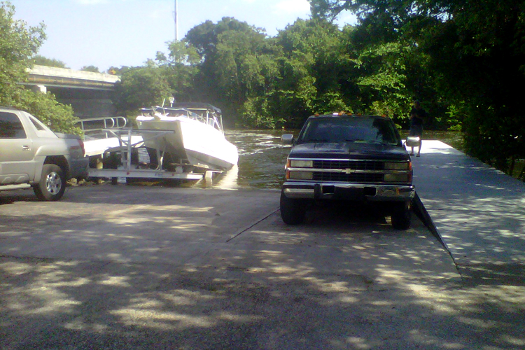 Free Boat Ramp and Floating Dock