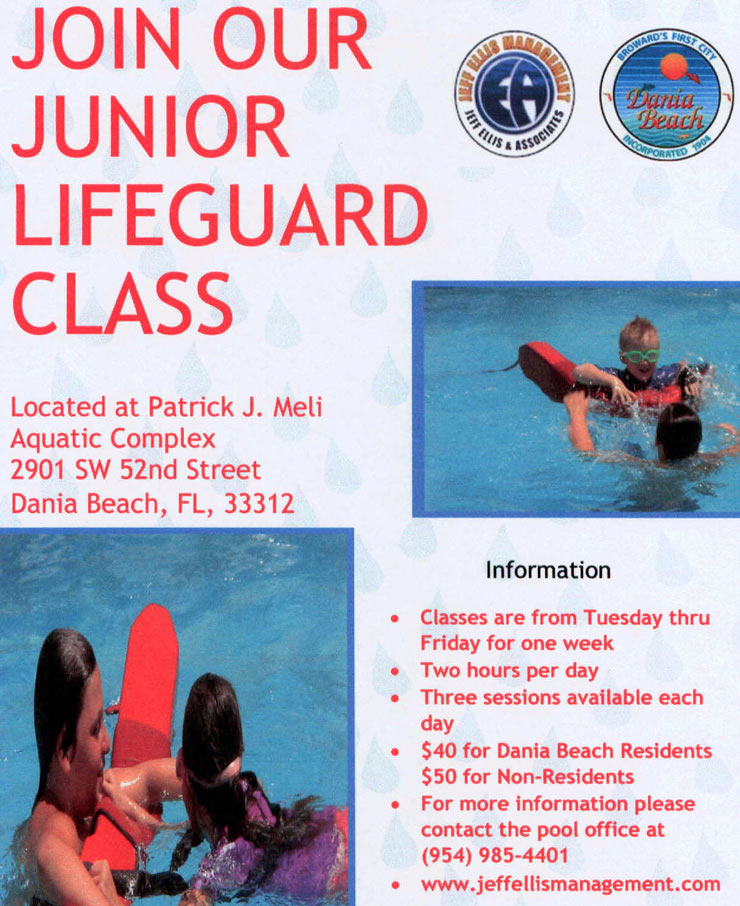 Junior Lifeguard Program Dania Beach