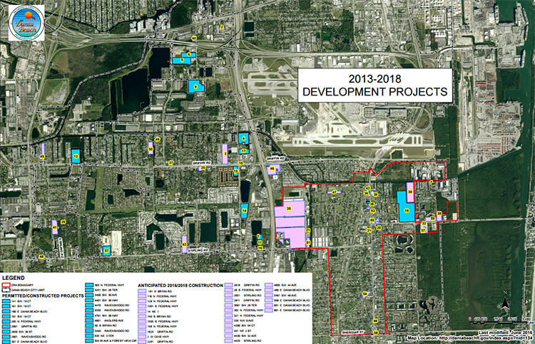 Dania Beach Development Projects Planning and Zoning